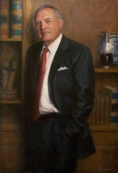 . Mr Leo Daughtry North Carolina General Assembly38x26 oil on linen