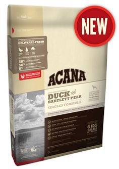 Duck & Bartlett Pear | ACANA Pet Foods