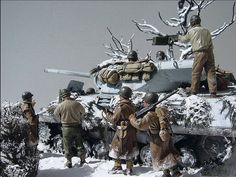 "1/6th scale (12"") WWII Diorama A Daily Dose for 31december2014 from the Michigan Toy Soldier Company. Find us at: www.michtoy.com"