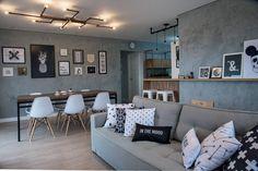 Iluminação - Casa com decoração inspirada nos estilos escandinavo e industrial