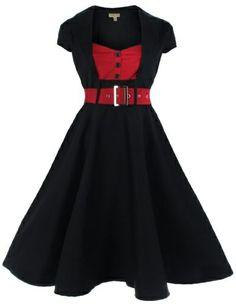 Lindy Bop 'Geneva' 1950's Vintage Inspired Swing Party Dress