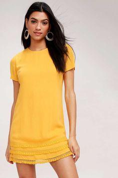 c5daec721f9b 40 Cute Summer Sundresses Under  100. Cute Yellow DressesYellow SundressYellow  Dress SummerSummer SundressesCasual ...
