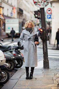 grey coat!