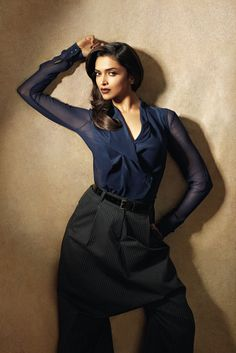 Suit up. #Deepika #Bollywood