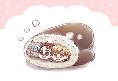 Anime Chibi, Kawaii Anime, Manga Anime, Demon Slayer, Slayer Anime, Chibi Food, Villain Deku, Cute Anime Character, Cute Anime Guys