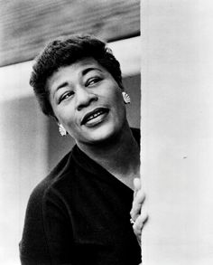 Ella Fitzgerald 1962 press photo.