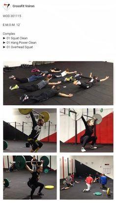 #CrossFit #CrossFitVoiron #Wod #Emom