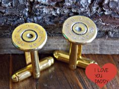 Fathers gift -Wedding Jewelry- Groomsmen- Mens cuff links- mens shot gun shell cuff link- Bullet - gifts - Mens jewelry - cufflinks