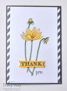 Altered Images Helping Me Grow from Stampin' Up! - come and see how I've changed the daisies from this photopolymer stamp set by Tracy May