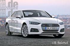 Neues Mittelklasse-Coupé von Audi
