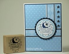 SC179 SFYTT Starry Baby Card by shellied - Cards and Paper Crafts at Splitcoaststampers