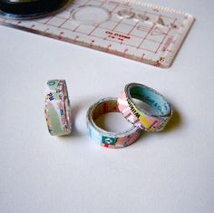 Make a Map Ring - I have a stack of old maps of all sorts, not nice or cool enough for hanging on the wall but I can't bring myself to toss 'em. Guess what my next craft obsession may very well be?