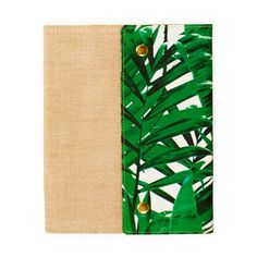 Let's Squawk leather canvas notebook - NEW - Stationery - New for Summer