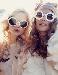 Wildfox round sunglasses Not Just For Summer Whites by Eyedolatry