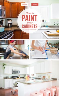 A Review Of My Milk Paint Cabinets Month Follow Up Pinterest - Should i paint my kitchen cabinets or replace them