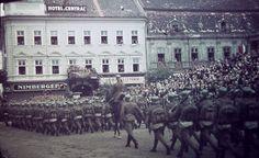Bevonulás Kolozsvárra 1940-ben.