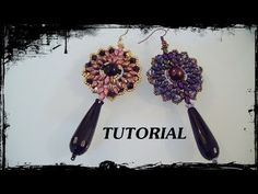 "Tutorial orecchini ""Narciso"" - DIY earrings - YouTube"