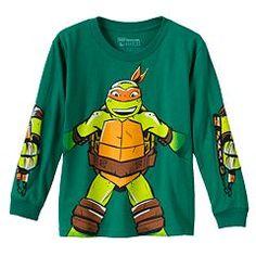 Teenage Mutant Ninja Turtles Michelangelo Tee - Boys 4-7