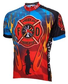 American Firefighter Mens Cycling Jersey bike bicycle   You can find out  more details at the b59003941