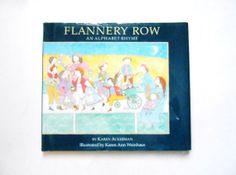 Flannery Row an Alphabet Rhyme a Vintage by lizandjaybooksnmore