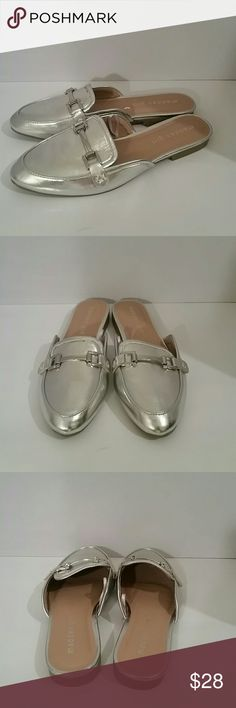 Madden girl Orson silver slip on loafer NWOB   get the high end design without the high end price Madden Girl Shoes Flats & Loafers