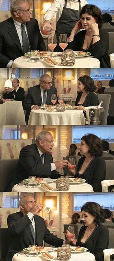 """Enzo Decaro e Licia Maglietta in """"Una pallottola nel cuore 2"""". 2016."""