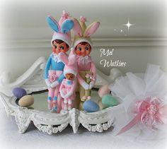 Pastel bunny elves <3