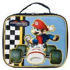 Mario Kart DS Lunch Box: http://www.amazon.com/Mario-Kart-DS-Lunch-Box/dp/B0036FK7KE/?tag=greavidesto05-20
