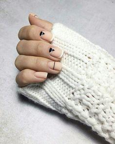 Short Nail Designs, Gel Nail Designs, Color For Nails, Nail Colors, Modern Nails, Minimalist Nails, Nail Envy, Green Nails, Stylish Nails