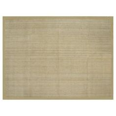 allen + roth Private Party Rectangular Cream Border Jute Area Rug (Common: 8-ft x 11-ft; Actual: 8-ft x 10-ft 6-in). $316