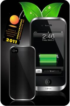 New iPhone Solar Charger, The App, The Outcome - Charge in Daylight, room light, sunlight!
