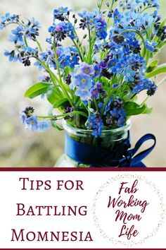 Tips for Battling Momnesia or Mommy Brain. Tips to help with Forgetfulness and keep on top of your tasks.
