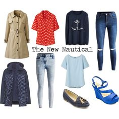 """""""The New Nautical"""" by simplybe on Polyvore"""