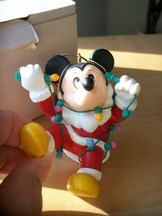 Grolier Mickey Mouse Christmas Ornament