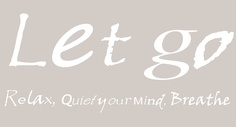 Let go.. bij Massagepraktijk Kokopilau Letting Go, Massage, Company Logo, Let It Be, Logos, Quotes, Quotations, Lets Go, Logo