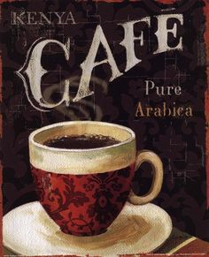 Today's Coffee I by Lisa Audit art print
