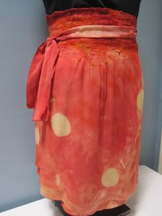 felt skirt (wool & silk) - Alice Andrews