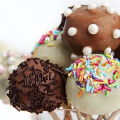 Cake Pops made easy! Chocolate Cake Pops, Tool Box, Baked Goods, Make It Simple, Baking, Desserts, Recipes, Chefs, Bakken