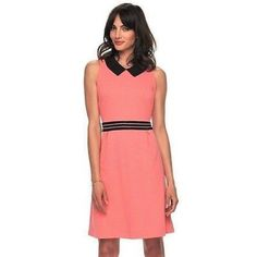 c5e3697dea Shop Women s ELLE Pink Orange size Various Dresses at a discounted price at  Poshmark. Description  You ll look absolutely darling in this women s ELLE  fit ...