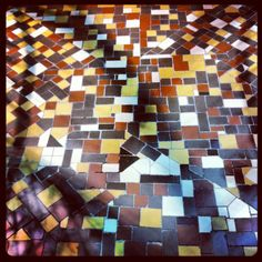 Floor tiles, Casa Batllo, Gaudi