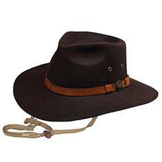 448afeb0091 Outback Kodiak Oilskin Hat - Hats   Headbands from SmartPak Equine  Waterproof Hat