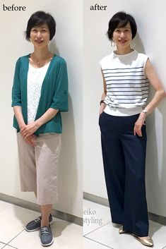 Fashion Pants, Fashion Outfits, Womens Fashion, New Pant Style, Pantalon Large, Advanced Style, Cute Hairstyles For Short Hair, Japanese Fashion, Outfit Posts