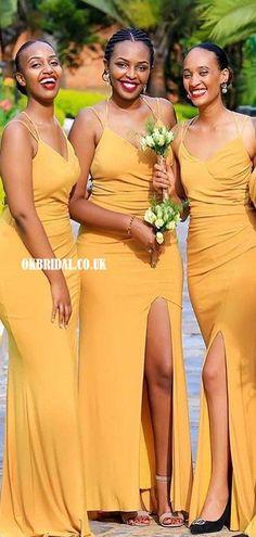 Gorgeous Mermaid Cross-Back Spaghetti Straps Bridesmaid Dress, FC6031 #bridesmaiddresses #bridesmaiddress #bridesmaids #dressesformaidofhonor #weddingparty #2021bridesmaiddresses #2021wedding Backless Bridesmaid Dress, Yellow Bridesmaid Dresses, Bridesmaids, Wedding Dresses, Inexpensive Bridesmaid Dresses, Yellow Wedding, Dress Backs, Dream Dress, Dress Making