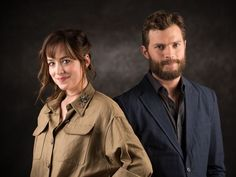 Jamie and Dakota looking both sassy and sexy here. Love these photos!! 50 Shades of Christian and Ana