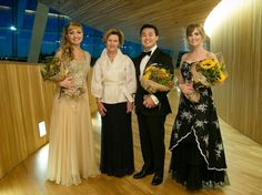 Her Majesty Queen Sonja presented the prizes to the winners of the Queen Sonja International Music Competition for 2013.