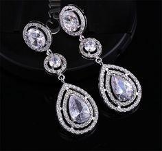 Classic-Pear-Ruby-Earrings-Large-CZ-Crystal-Long-Dangle-Drop-Earrings-For-Women-Wedding-Bride-Jewelry.jpg (800×746)