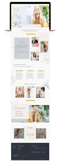 A Unique Branding, Marketing & Web Design Studio Wedding Website Design, Travel Website Design, Simple Website Design, Beautiful Website Design, Minimal Web Design, Modern Web Design, Creative Web Design, Design Websites, Web Design Tips