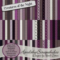 Creatures of the Night - Paper Pack - CU/PU