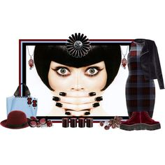 """School Girl"" by rozelle on Polyvore"
