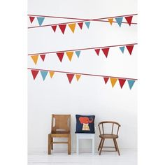 FLAGS  WALL DECALS
